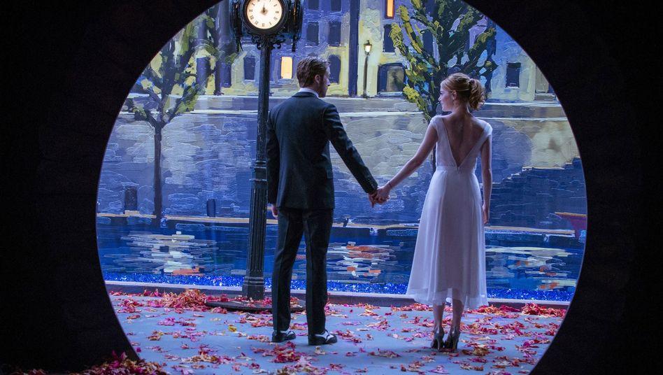 "Ryan Gosling und Emma Stone in ""La La Land"""