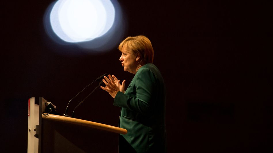 Angela Merkel: Parallelen zwischen Euro- und Flüchtlingspolitik