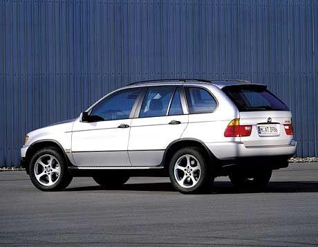 BMW X5 3.0d: Der Benzinfresser erfüllt nicht die für Personenwagen geltende Euro-3-Abgasnorm