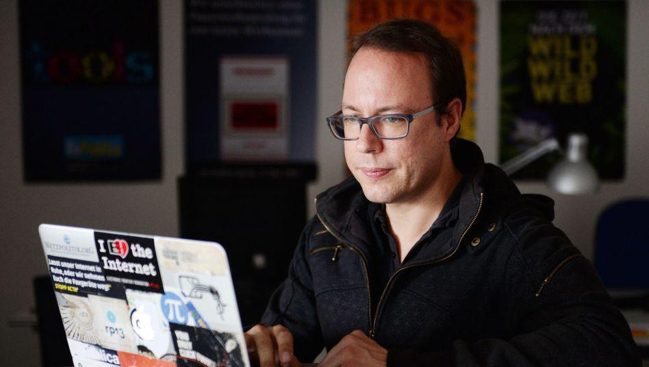 Journalist Markus Beckedahl, einer der Kläger