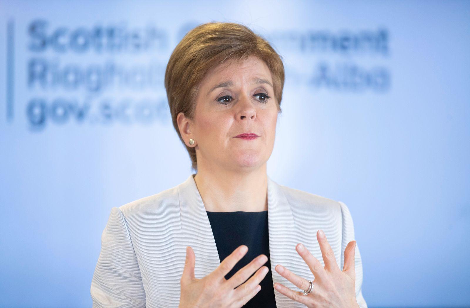 Sturgeon wirbt vor EU-Gipfel für Unabhängigkeit Schottlands