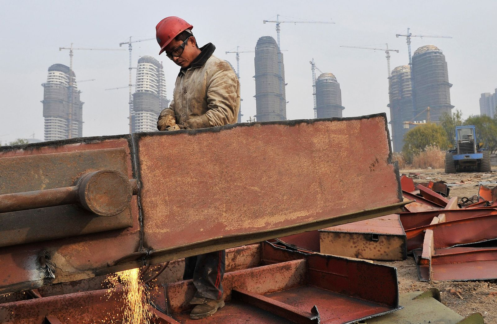 China Industrie Baustelle
