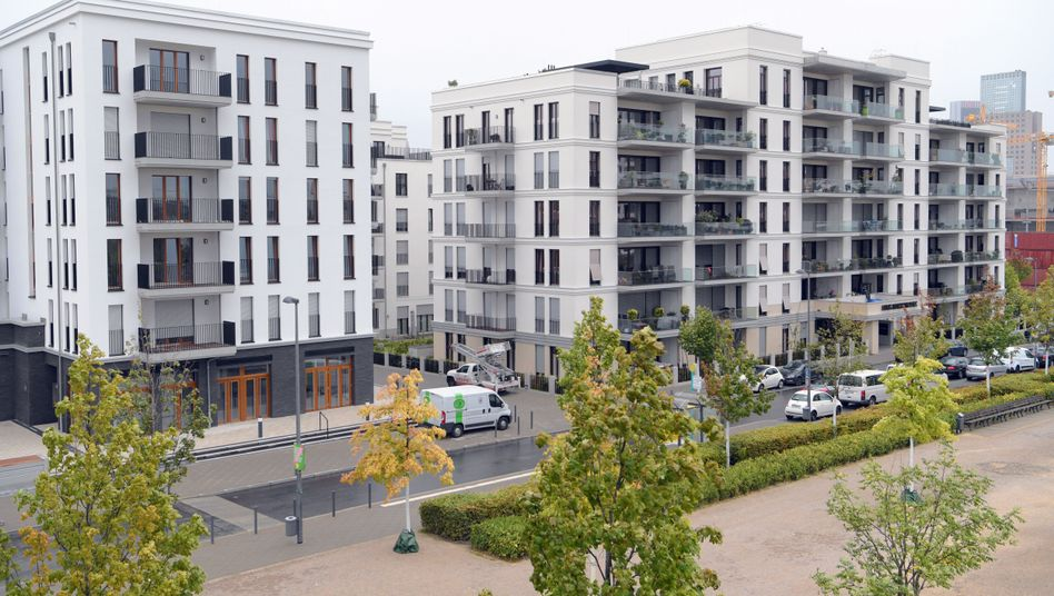 Neubauten in Frankfurt am Main
