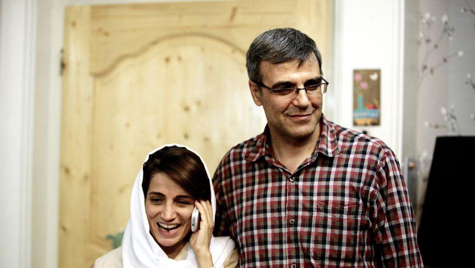 Sind voneinander getrennt: Nasrin Sotoudeh und ihr Ehemann Reza Khandan