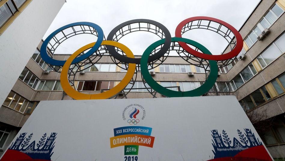 Russisches Olympia-Komitee in Moskau