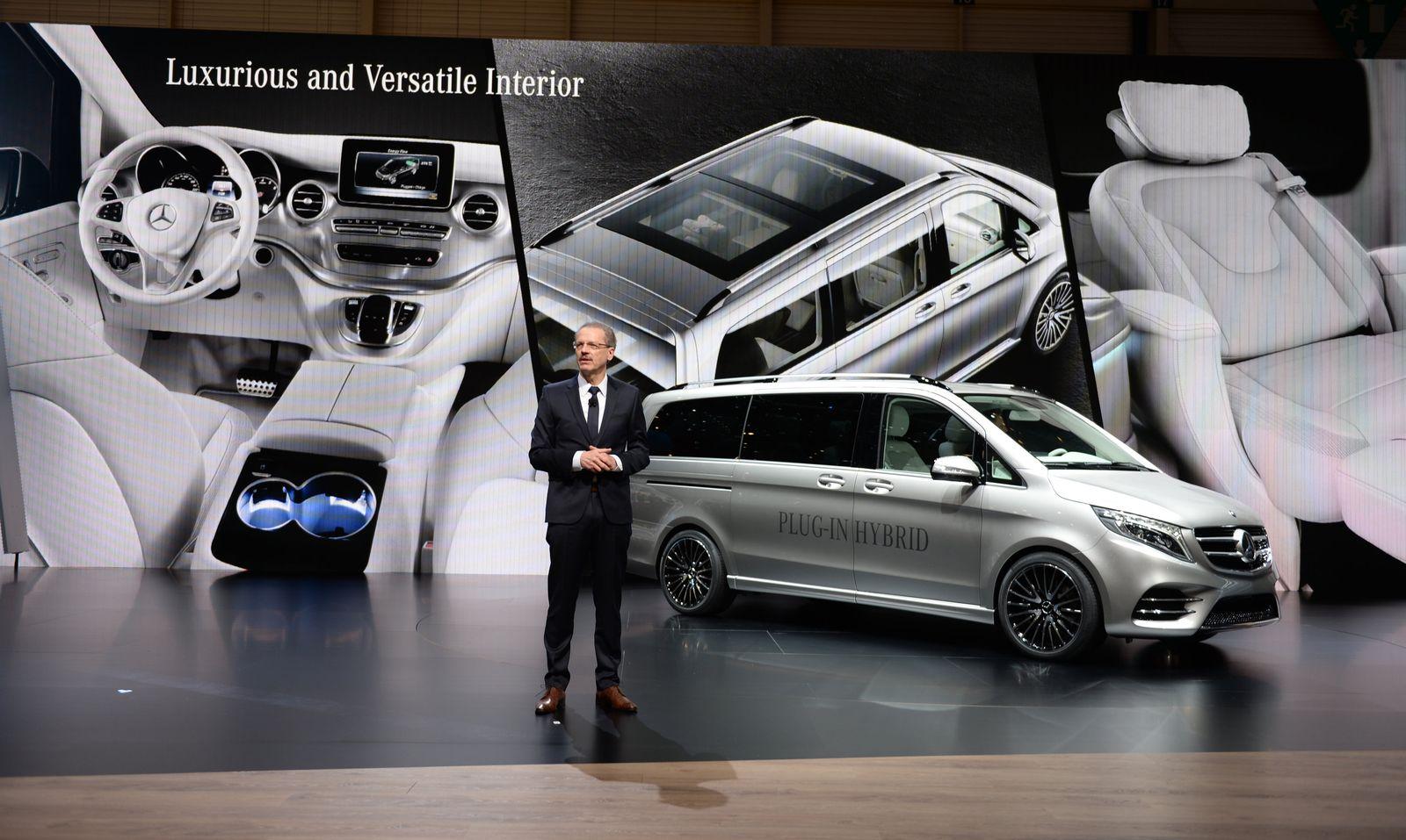 Genf/ 85. Automobil-Salon/ Volker Mornhinweg/ Mercedes-Benz/ Vans/ V-ision e