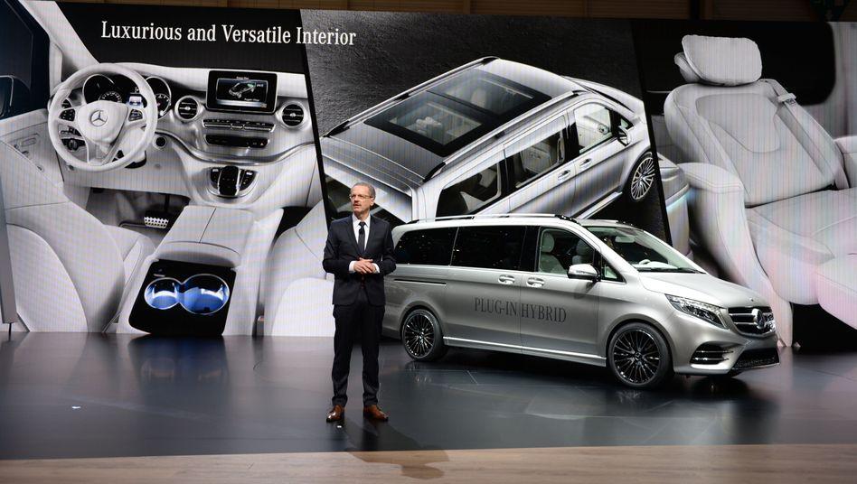 Mercedes-Benz auf dem Genfer Autosalon im März