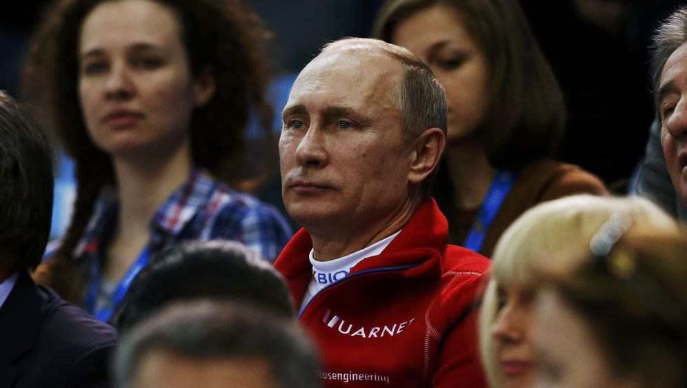 Putins Spiele: Der Präsident als Zuschauer