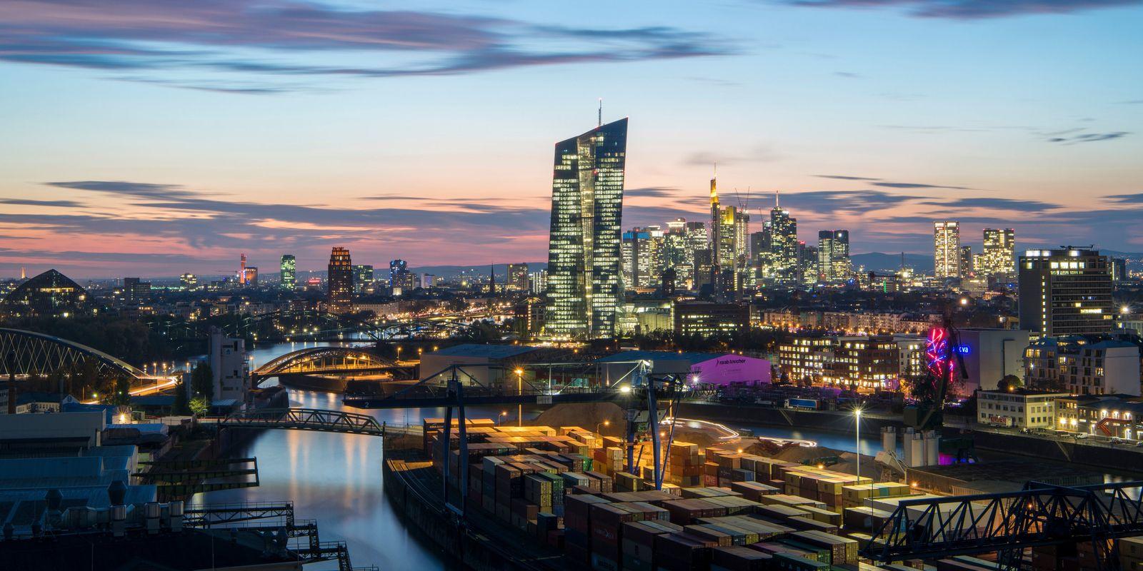 Frankfurt/ Bankenskyline