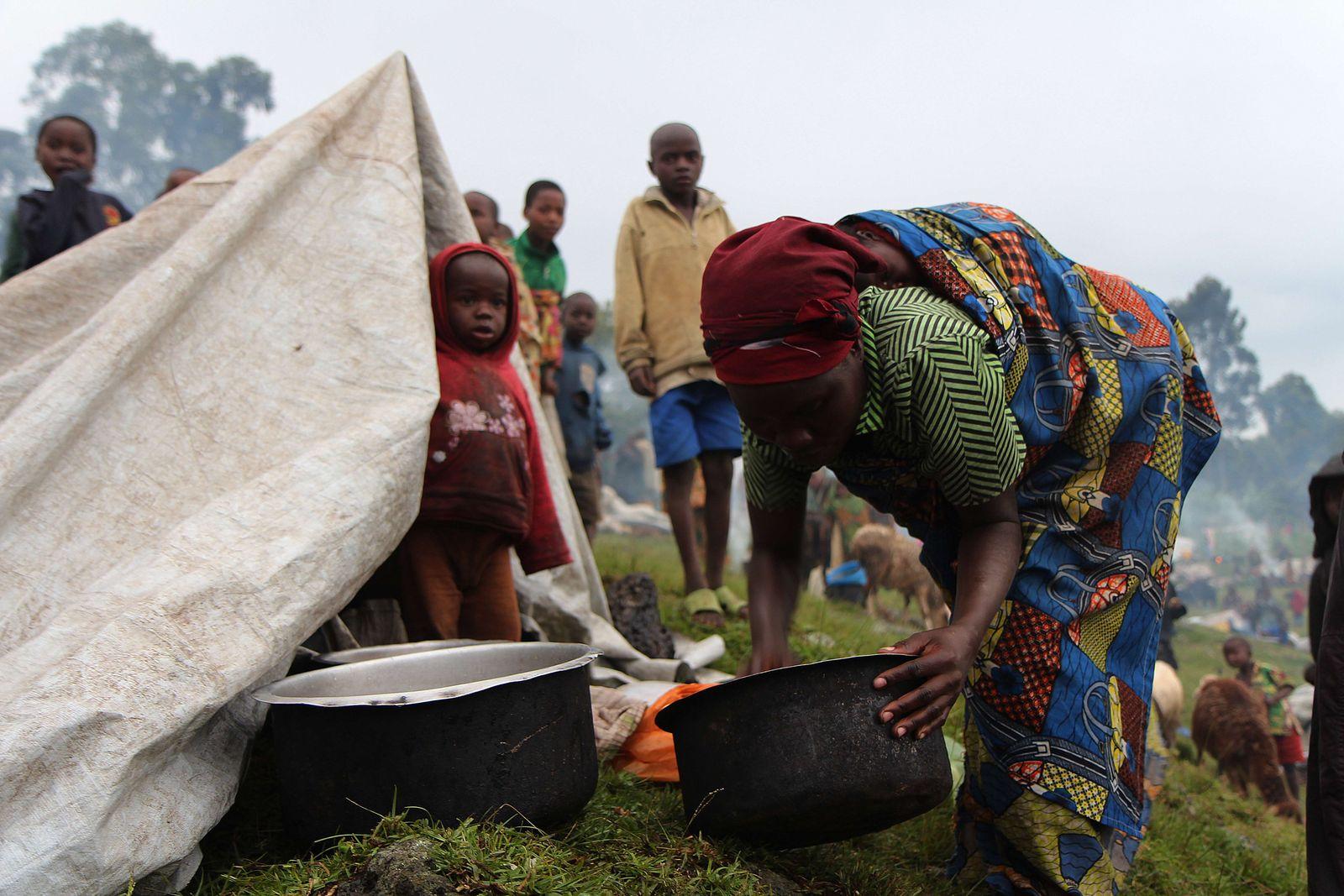 Flüchtlinge / Kongo / Uganda