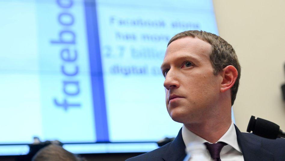 Facebook-Chef Mark Zuckerberg: Neues Einkaufsangebot gestartet