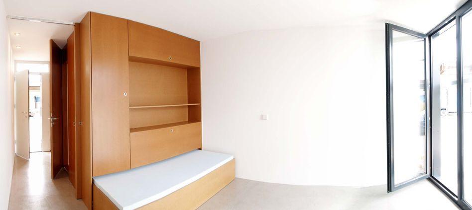 Wohnheimzimmer in Konstanz (Archiv): Leben auf engstem Raum - für Studenten, Rentner und Flüchtlinge