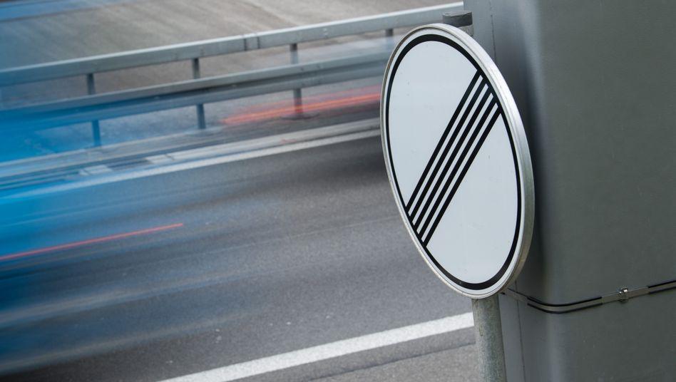 Der Bundestag stimmte mit einer großen Mehrheit gegen ein allgemeines Tempolimit