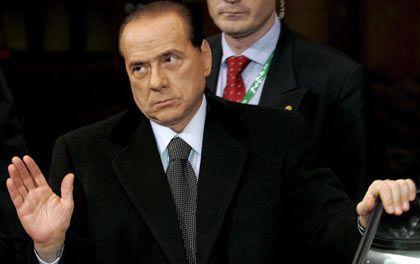 Italiens Regierungschef Silvio Berlusconi: Er ist gegen Multikulti