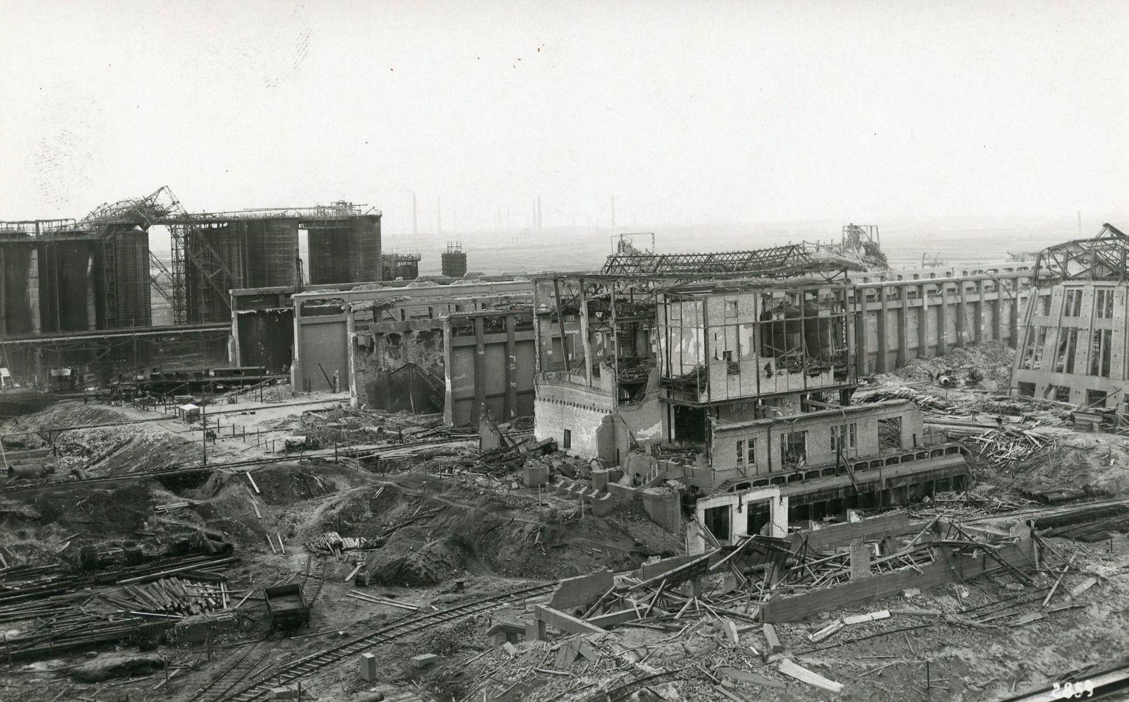 Oppau_zerstoerte_Gebaeude_1921