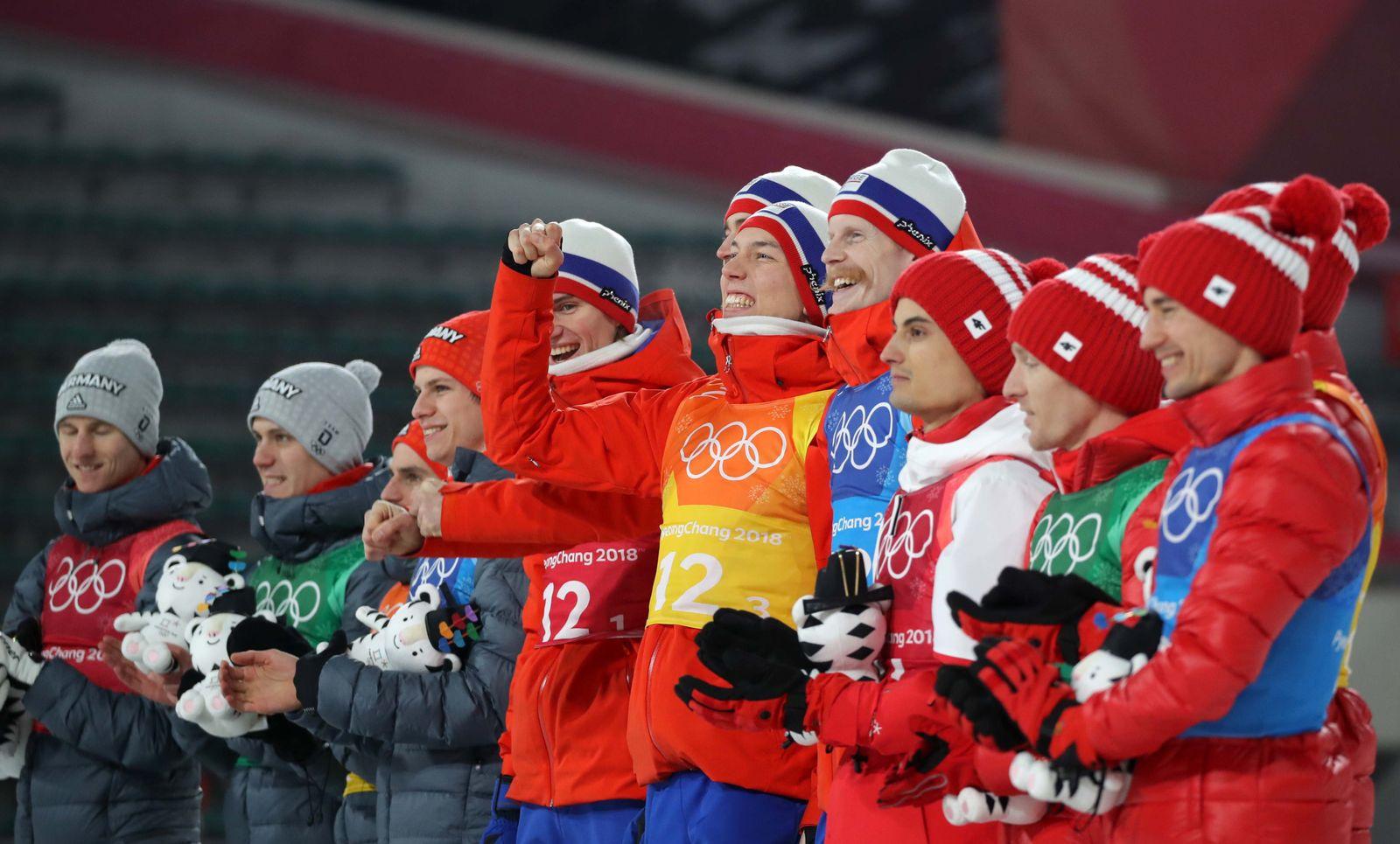 OLYMPICS-2018-SKIJ-M-TEAM/