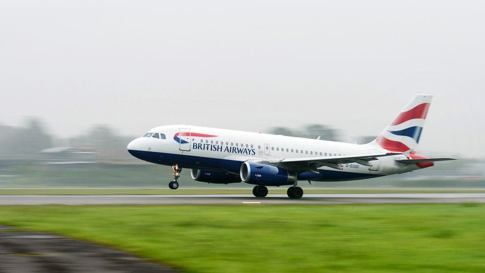 Flugzeug von British Airways: Storniert wegen Corona