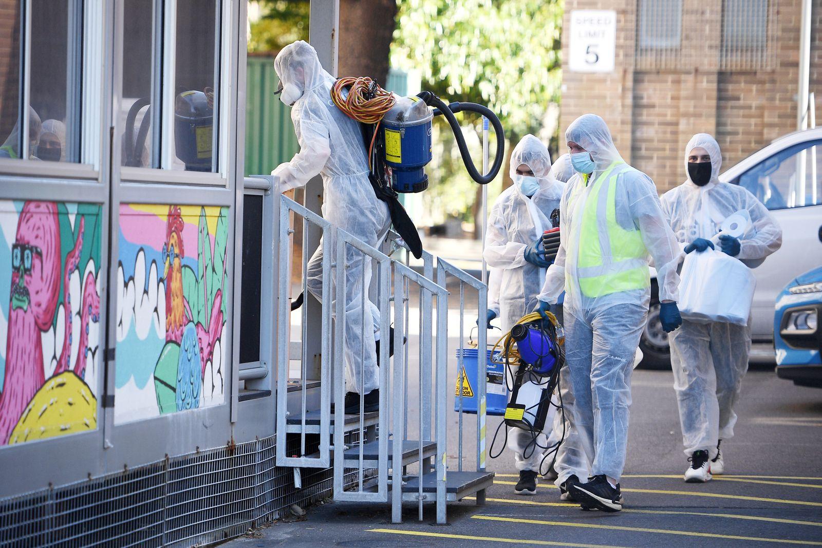 Australien: Corona-Rekordzahlen in New South Wales trotz Lockdown