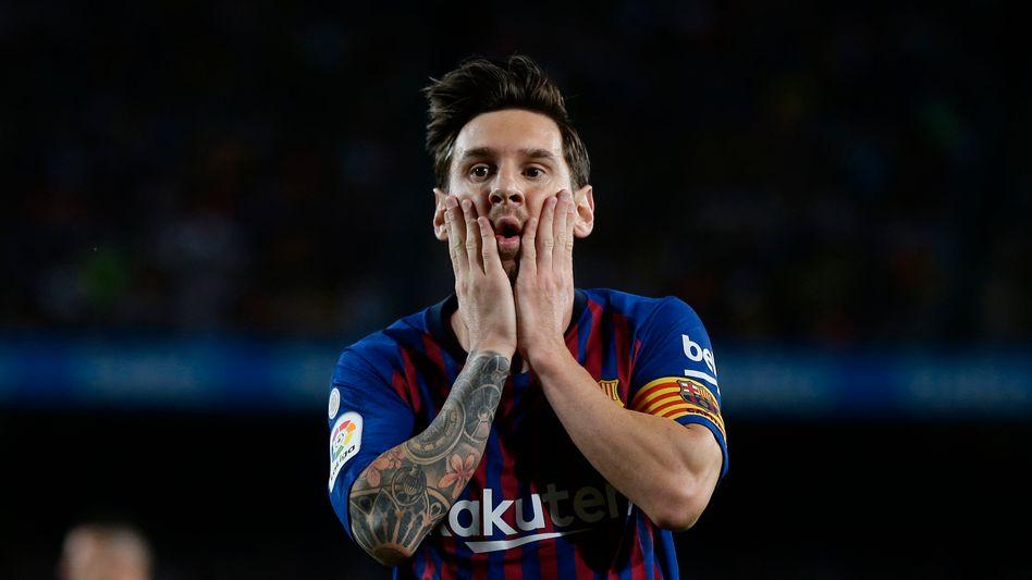 Sein FC Barcelona hat am 13. Juni das erste Spiel seit drei Monaten: Lionel Messi