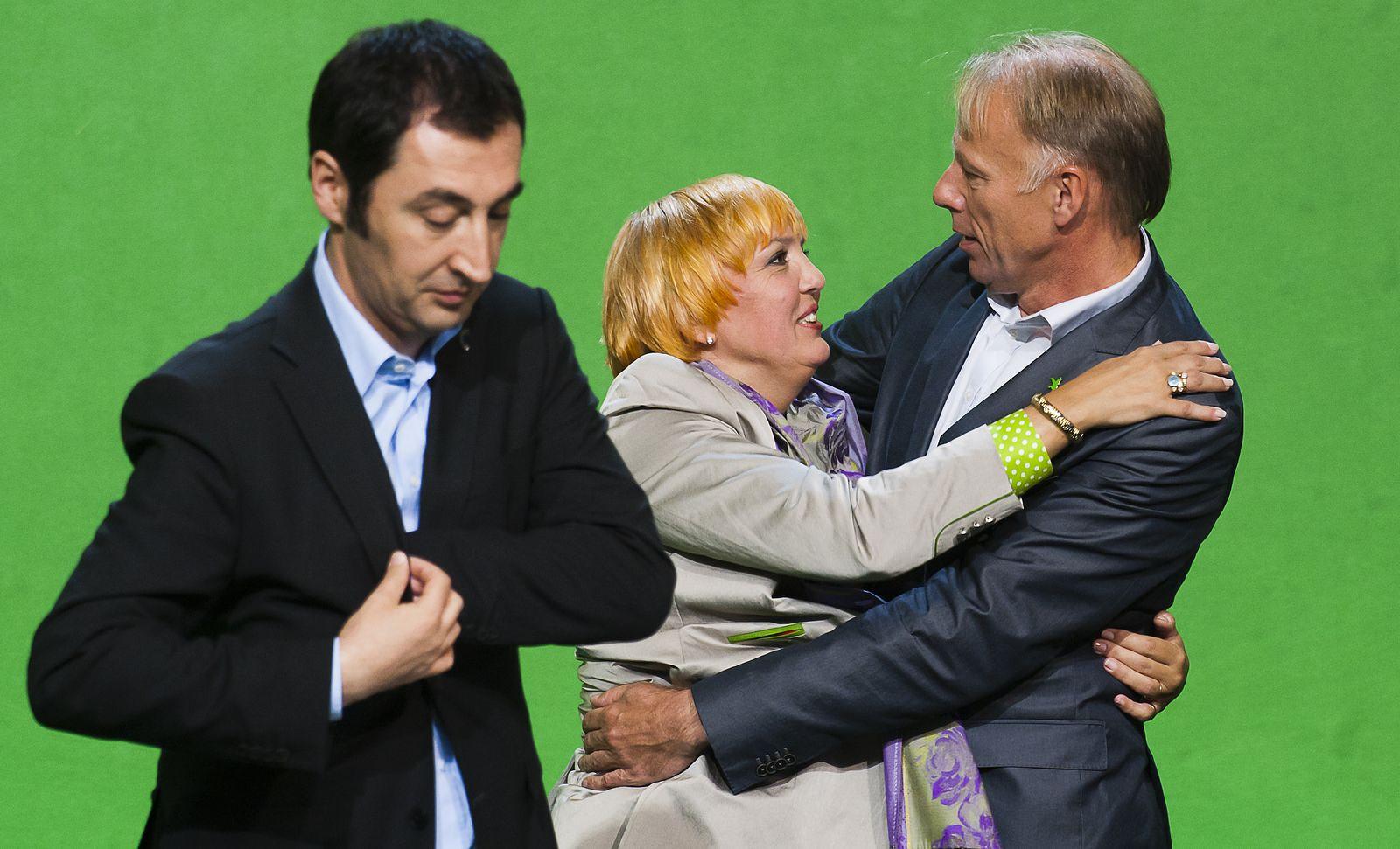 NICHT VERWENDEN Parteien/Energie/Atomkraft/Atom/Parteitage Grüne Trittin Roth Özdemir