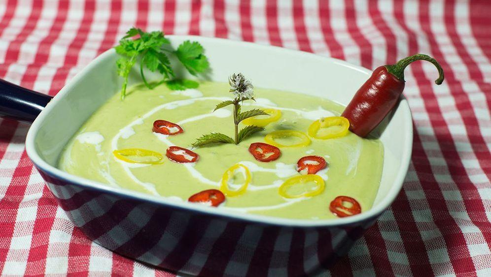 Peter Wagners Rezept für scharfe Avocadokaltschale