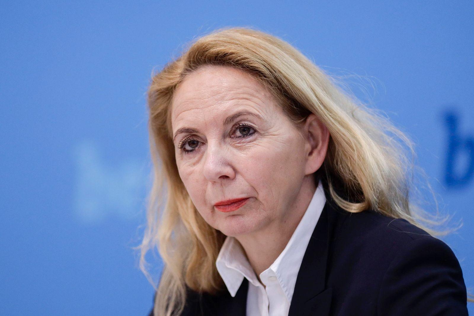 09.03.2020, Berlin, Deutschland - Pressekonferenz: Vorstellung der Kriminalstatistik der Polizei fuer 2019 in Berlin. Fo