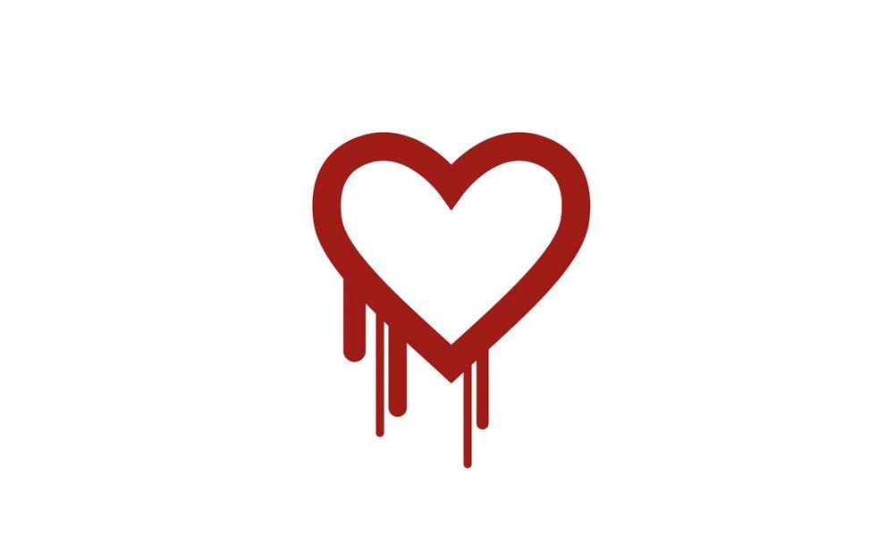 EINMALIGE VERWENDUNG Heartbleed/ Logo
