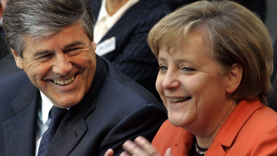 Ackermann, Merkel: Da oben in der Kanzlerkapsel die Elite - da unten in der Nacht Hartz IV