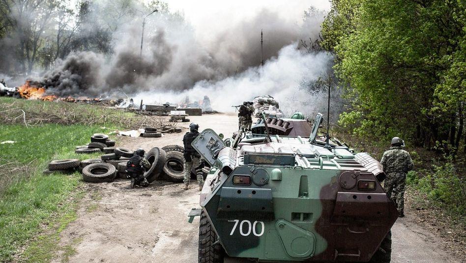 Angriff ukrainischer Streitkräfte(*) »Wenn sie kommen, dann sterben wir«