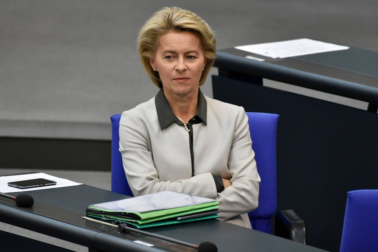 EINMALIGE VERWENDUNG Ursula von der Leyen/ Verteidigungsministerin