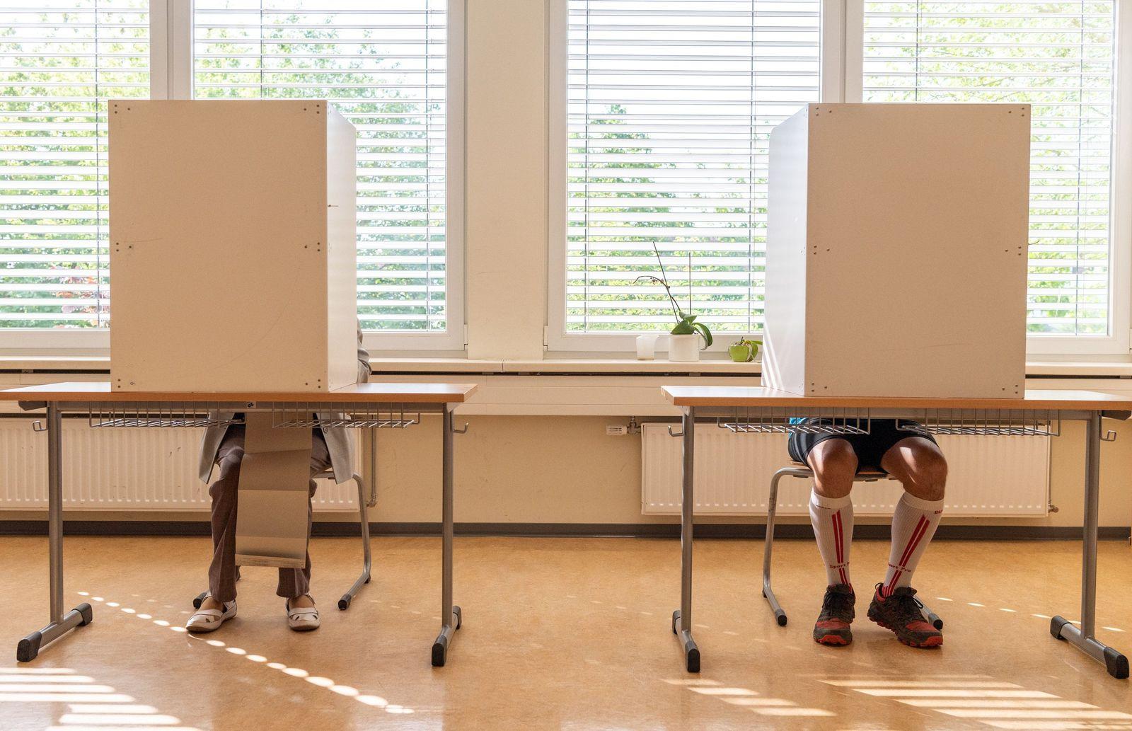 Europa- und Kommunalwahlen in Sachsen