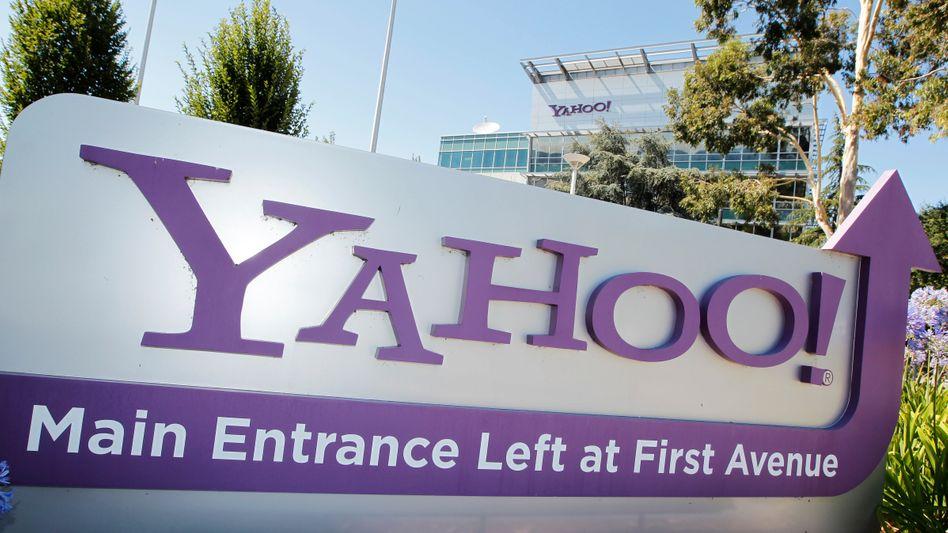 Yahoo-Zentrale in Sunnyvale: vergeblicher Versuch, die Datenweitergabe zu verhindern