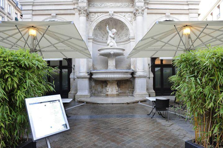 "Das Restaurant ""La Fontaine Gaillon"" im Zentrum von Paris"