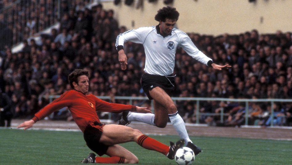 Gerd Strack gegen die Albaner in Saarbrücken