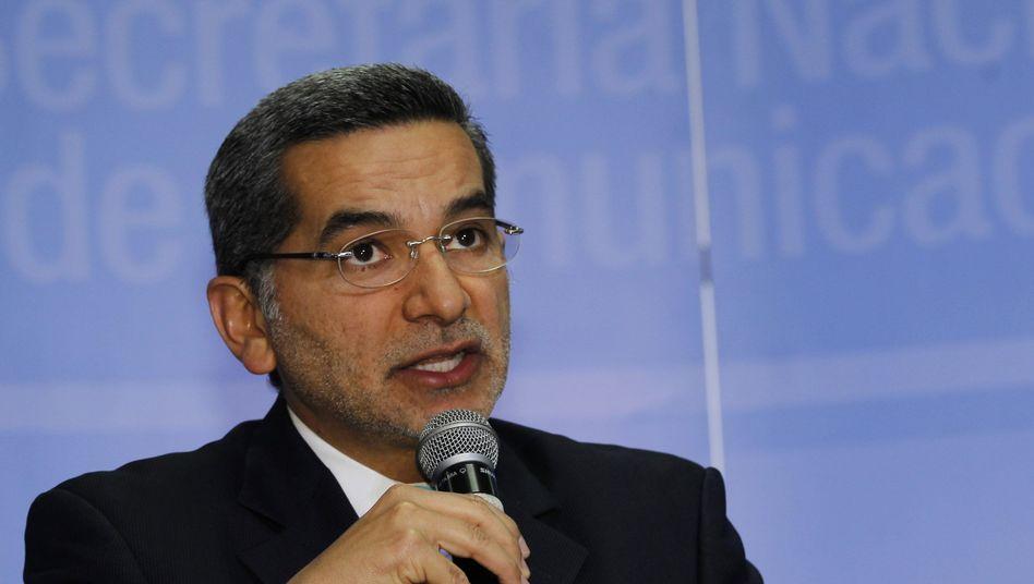 """Informationsminister Alvarado: """"Wir lassen uns nicht erpressen"""""""