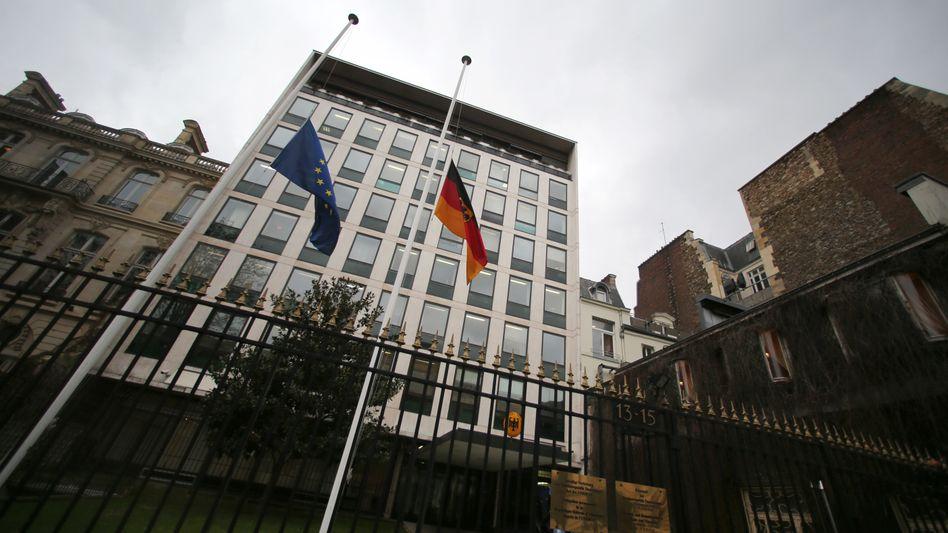 Deutsche Botschaft in Paris (Archivbild von Januar 2015)