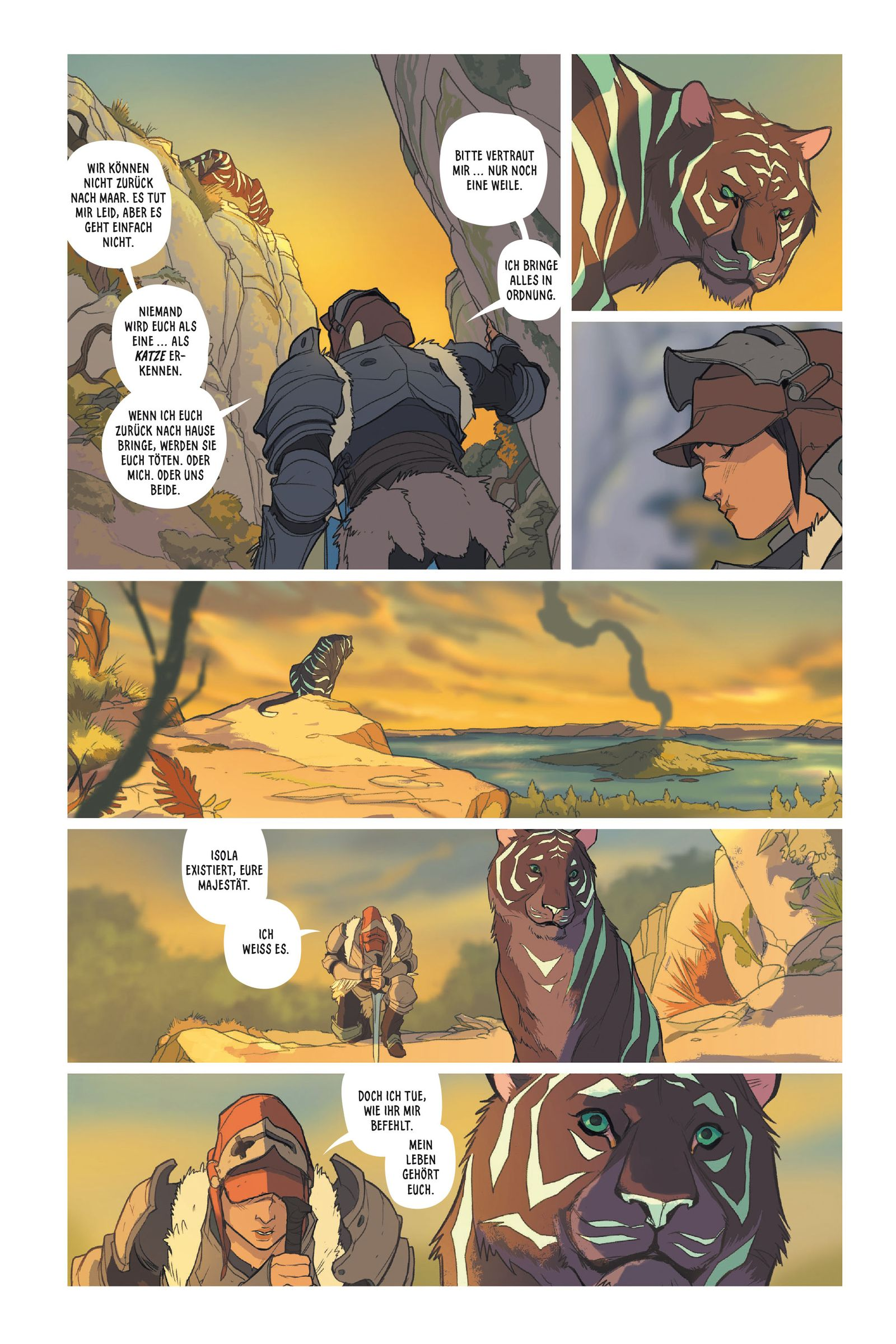 EINMALIGE VERWENDUNG Kultur/ Comics/ Isola