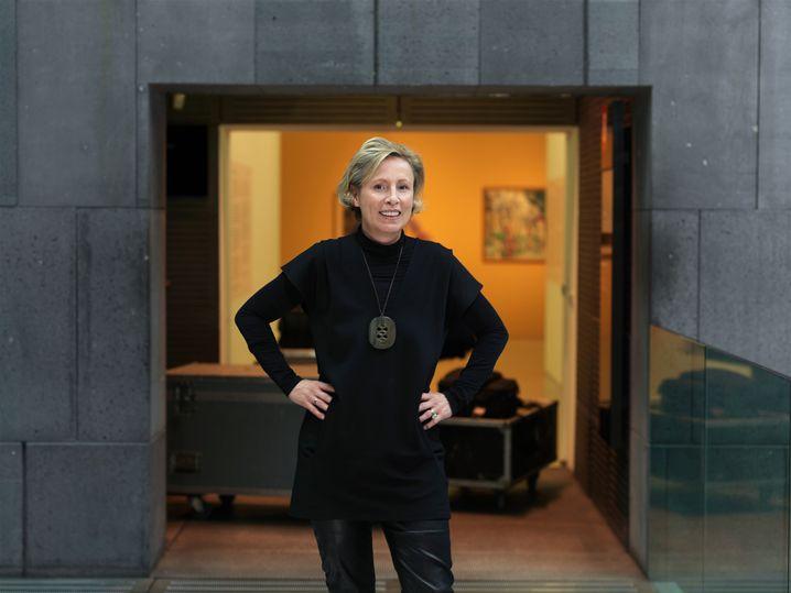 Karola Kraus, 51, leitet seit zwei Jahren das Museum Moderner Kunst Stiftung Ludwig Wien