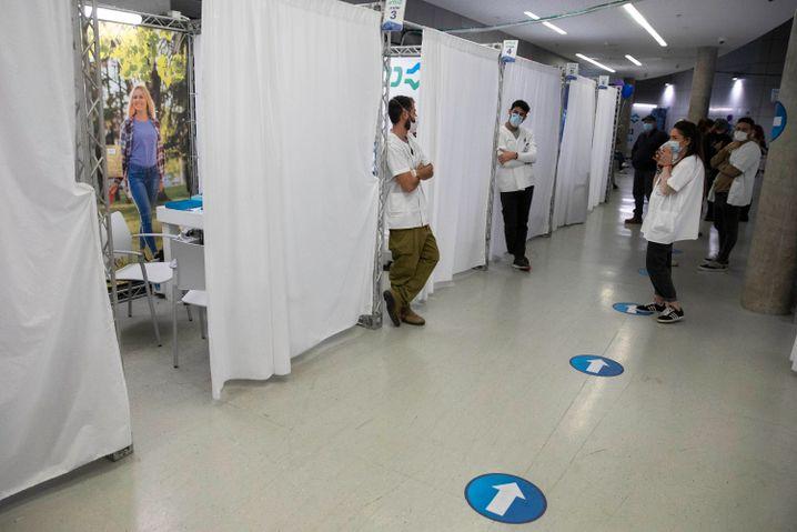 Impfzentrum in Israel