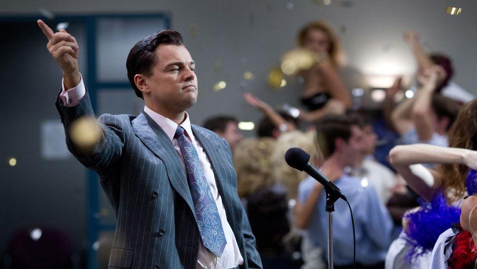 """Leonardo DiCaprio spielt in """"The Wolf of Wall Street"""" Aktienhändler Jordan Belfort"""