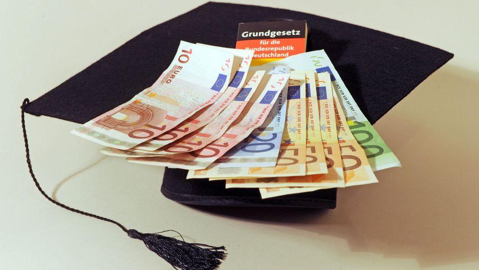 Euro-Geldscheine: Strafe fürs Sparen