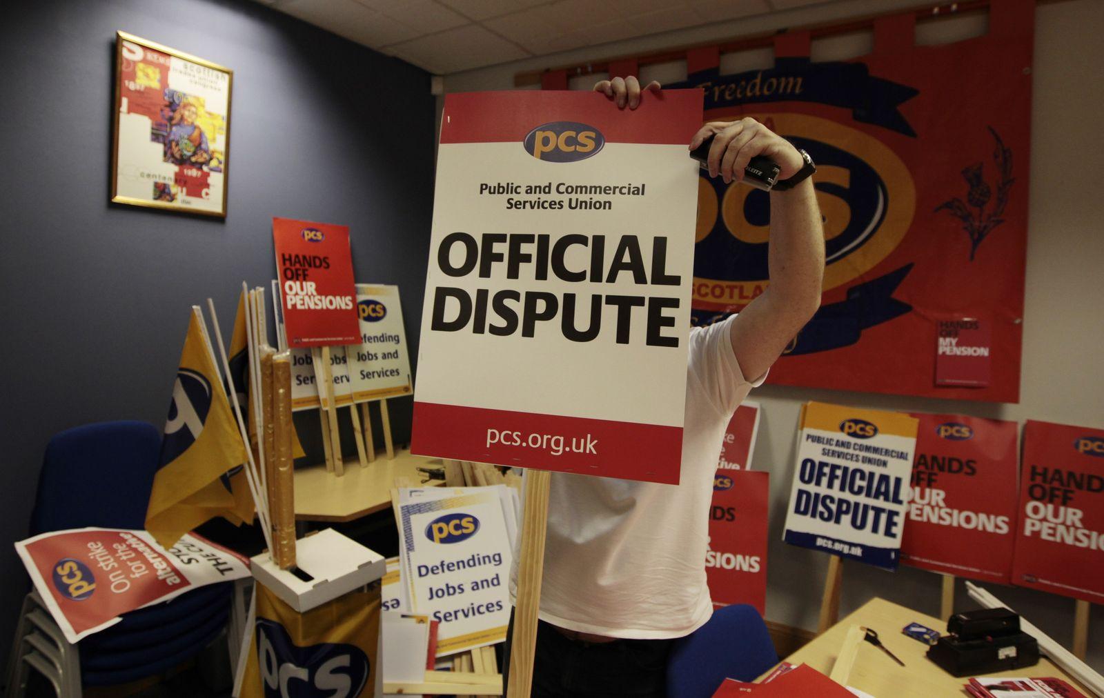 UK/ Streikvorbereitungen
