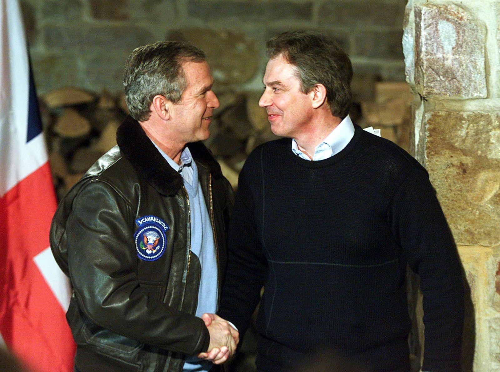 Bush Blair 2001