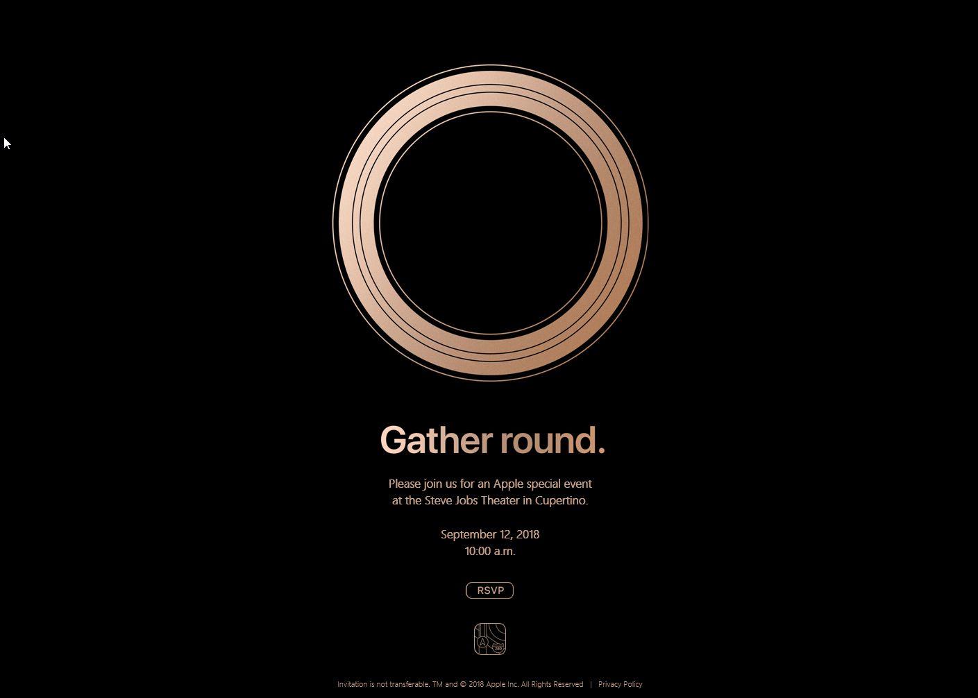 NUR ALS ZITAT Screenshot Apple-Event