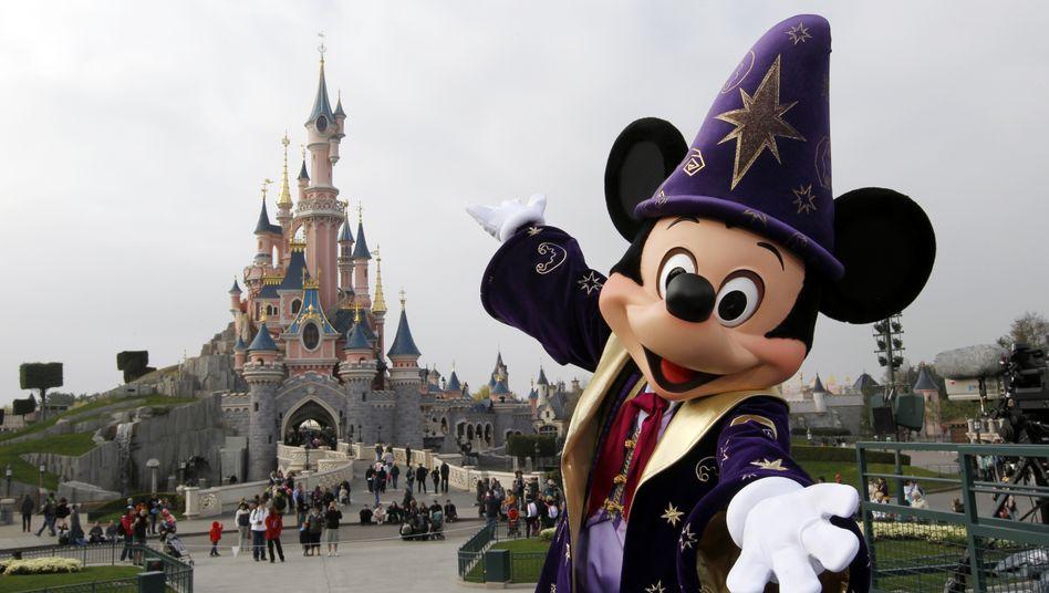 Disneyland in der Nähe von Paris (Archiv)