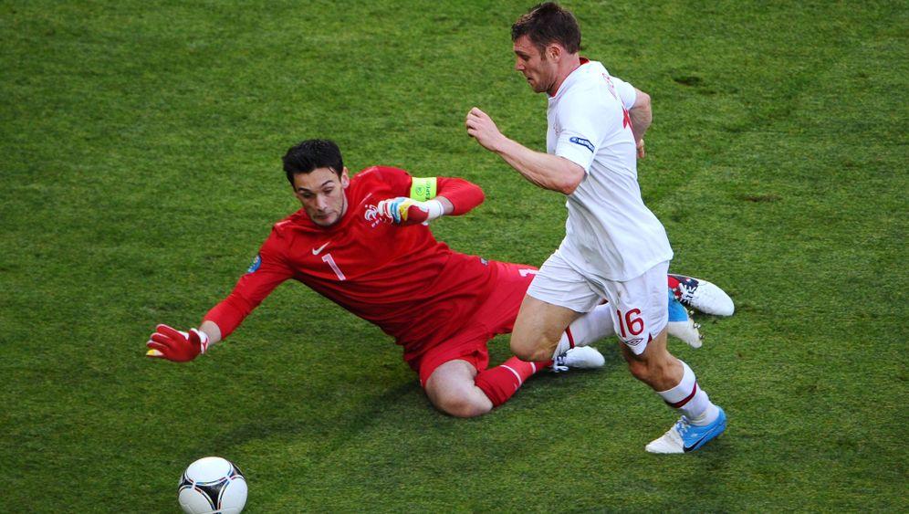 EM-Gruppe D: Ribéry und Co. gehen gegen England die Ideen aus