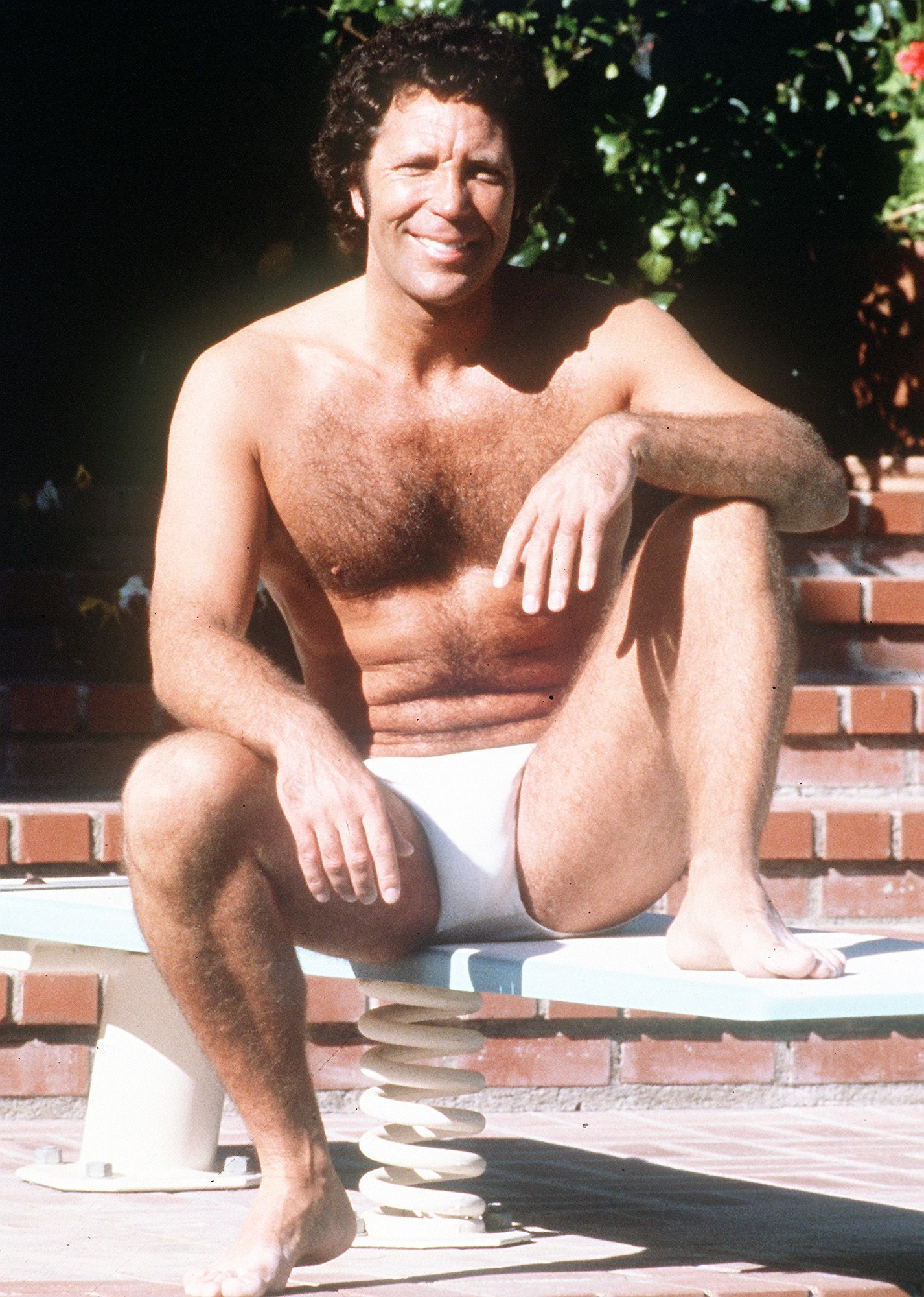 TOM JONES BEL AIR POOL 1980