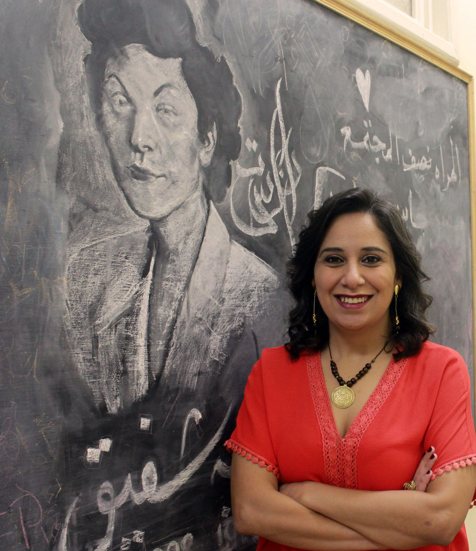 EINMALIGE VERWENDUNG Mozn Hassan / Right Livelihood Award / Alternativer Nobelpreis