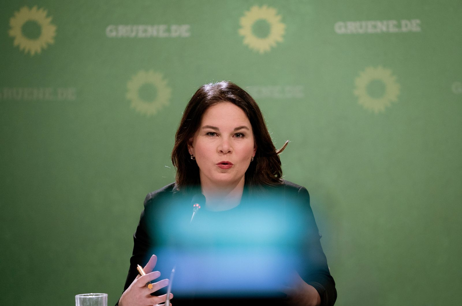 Auftakt-Pressekonferenz der Grünen