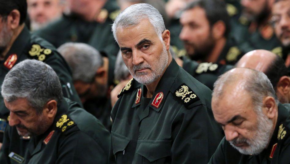 Qassem Soleimani, Chef der Eliteeinheit Kuds-Brigaden, und zuständig für Auslandsoperationen Irans